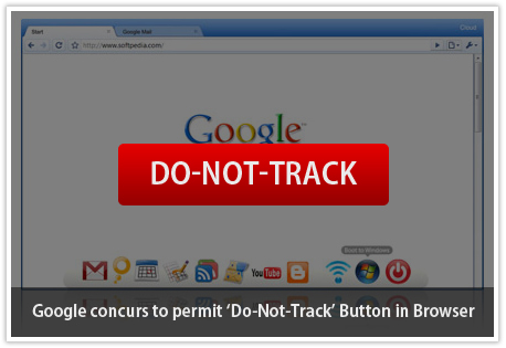 Google Browser Do not track button