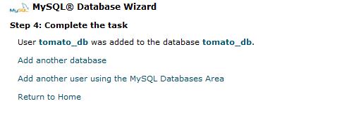 TomatoCart Mysql Database 12