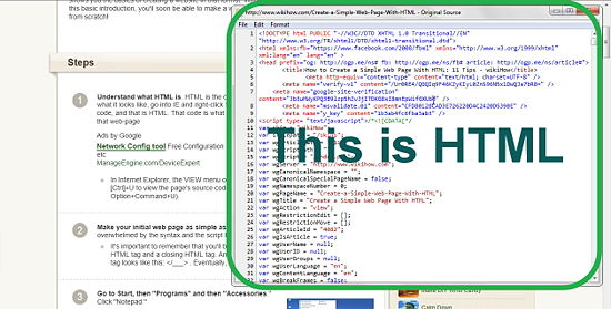 How To Create A Simple Web Page With Html Step By Step For Beginners