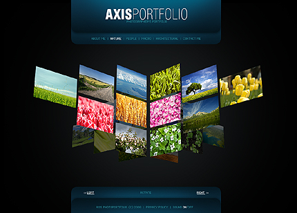 Dynamic Flash Website Templates Free Download