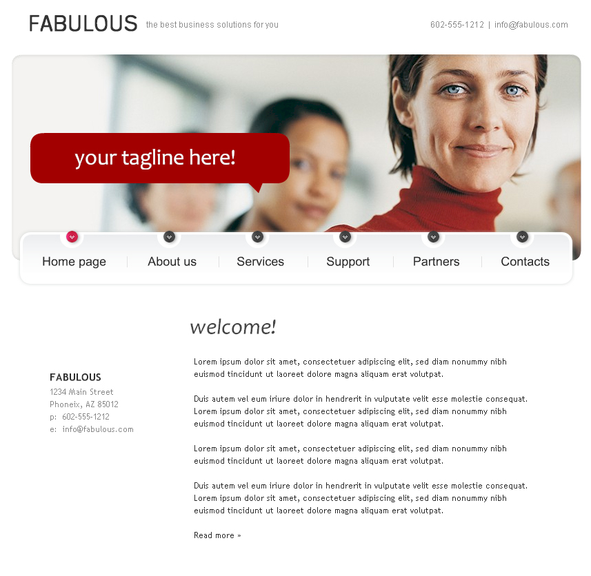 Professional Web Templates: How To Create A Website Fast By Using Templates