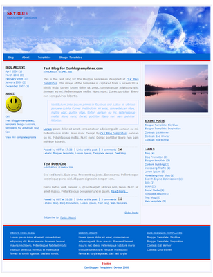 xml-blogger-template