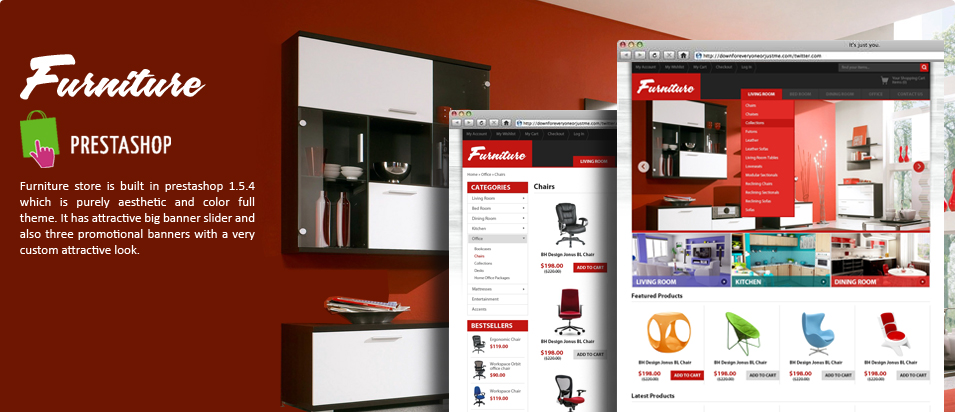 Furniture prestashop 1.5.4