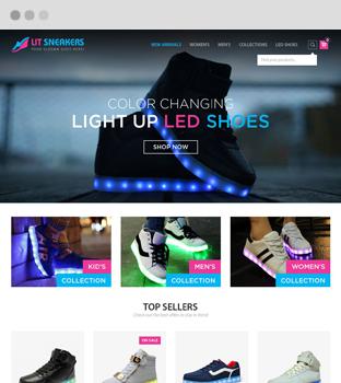 lit sneakers